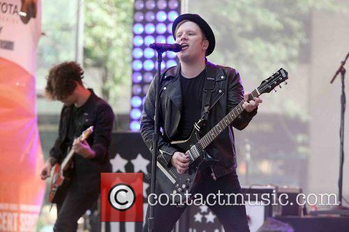 Patrick Stump and Fall Out Boy 6