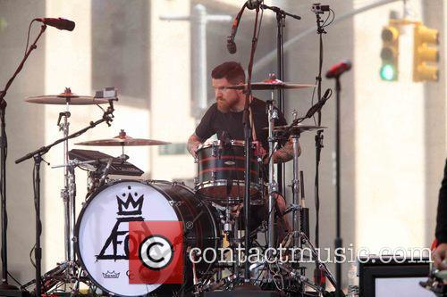 Andy Hurley and Fall Out Boy 5
