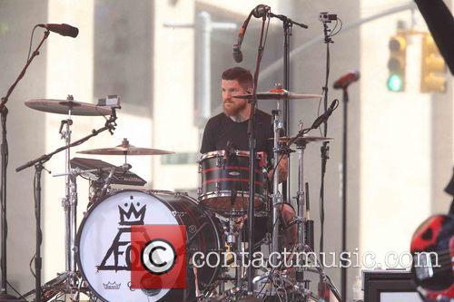 Andy Hurley and Fall Out Boy 1