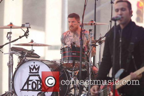 Andy Hurley, Fall Out Boy and Pete Wentz 6
