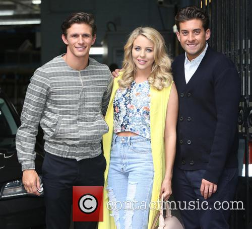 James Argent, Jake Hall and Lydia Bright 11