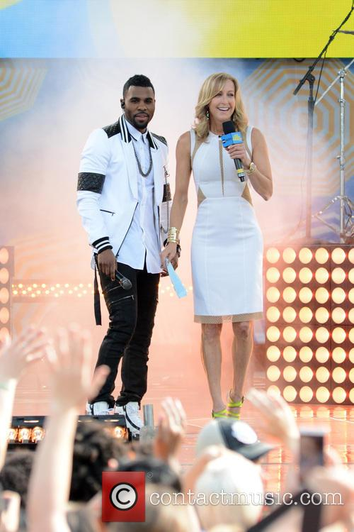 Jason Derulo and Lara Spencer 10