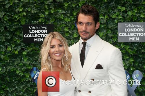Mollie King and  david Gandy 7