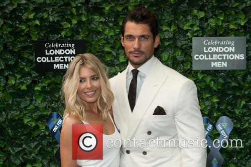Mollie King and  david Gandy 8