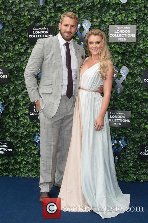 Chris Robshaw and Camilla Kerslake 2