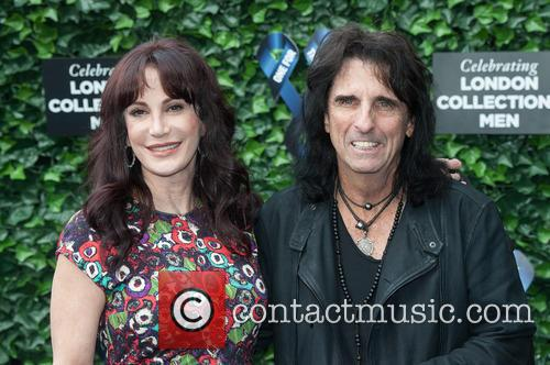 Alice Cooper and Sheryl Goddard 1