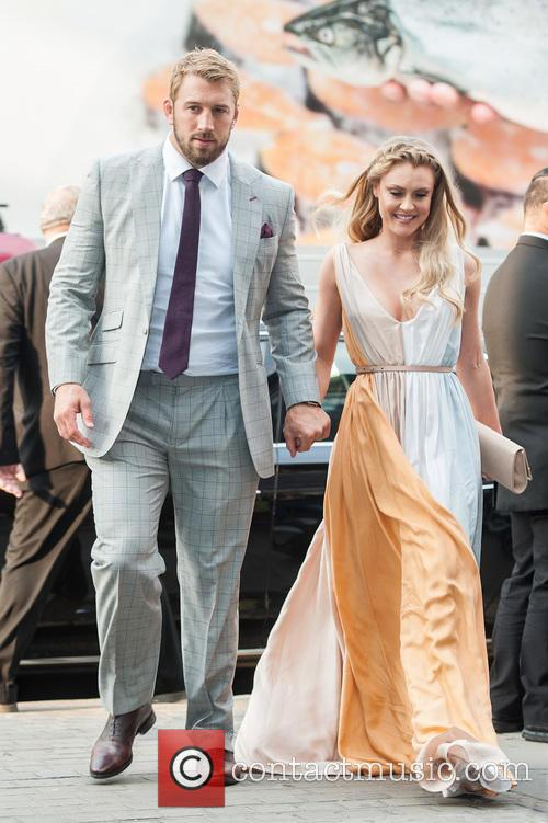 chris Robshaw and Camilla Kerslake 3