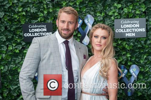 chris Robshaw and Camilla Kerslake 1