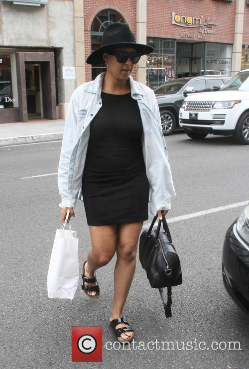 Tia Mowry spotted out shopping in Beverly Hills