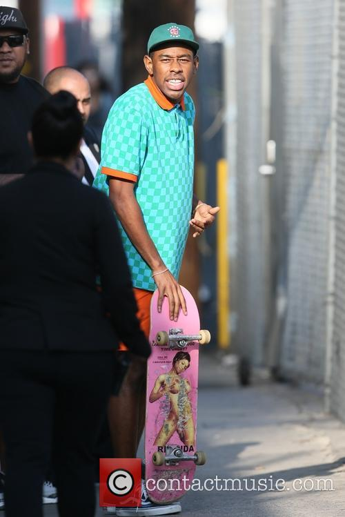 Tyler The Creator seen leaving the ABC studios
