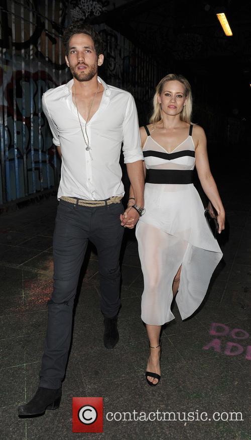 Ashley Roberts joins Kimberly Wyatt and boyfriend Max...