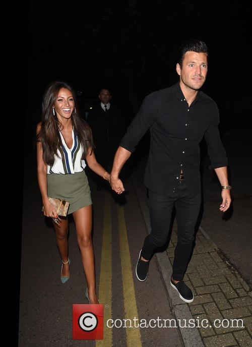 Mark Wright and Michelle Keegan 10