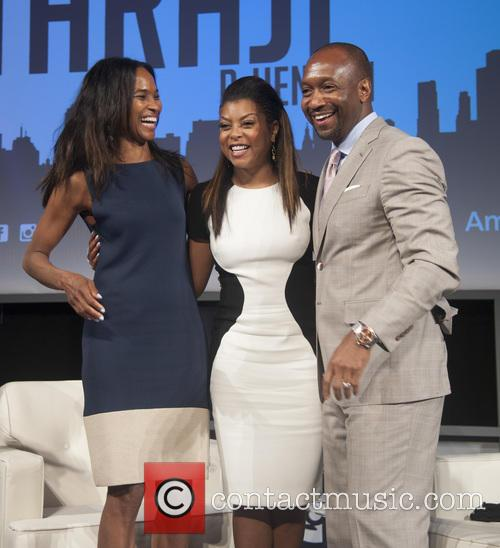 Nicole Friday, Taraji P. Henson and Jeff Friday 2