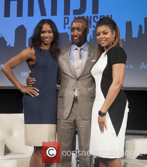 Nicole Friday, Taraji P. Henson and Jeff Friday 1