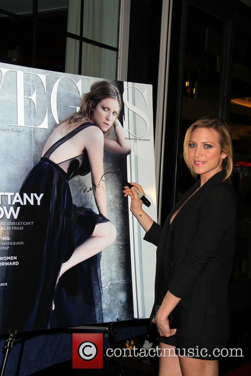 Brittany Snow attends the Vegas Magazine 12th anniversary...