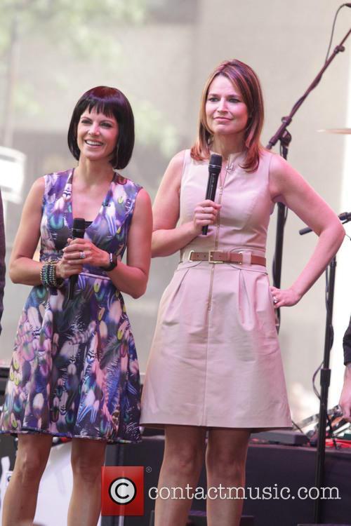 Natalie Morales and Savannah Guthrie 5