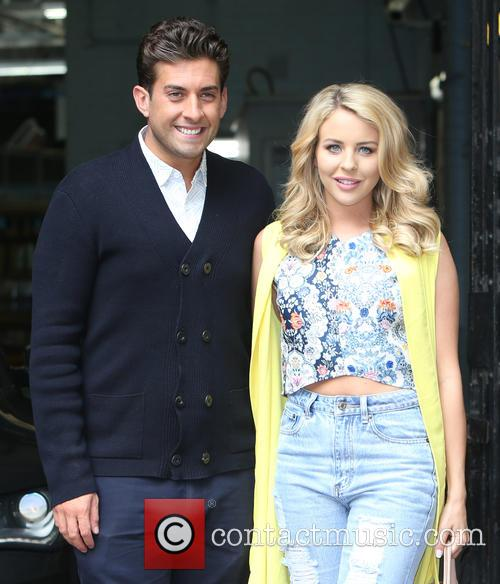 James Argent, Chloe Sims, Jake Hall and Lydia Bright 1
