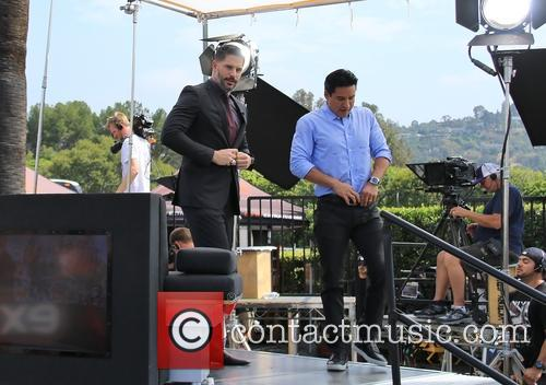 Joe Manganiello and Mario Lopez 3