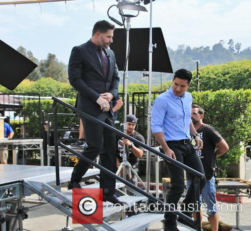 Joe Manganiello and Mario Lopez 1