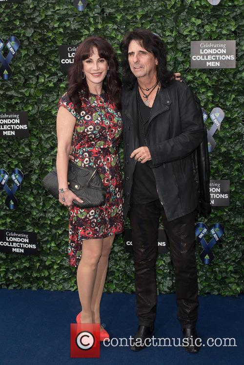 Alice Cooper and Sheryl Goddard 2
