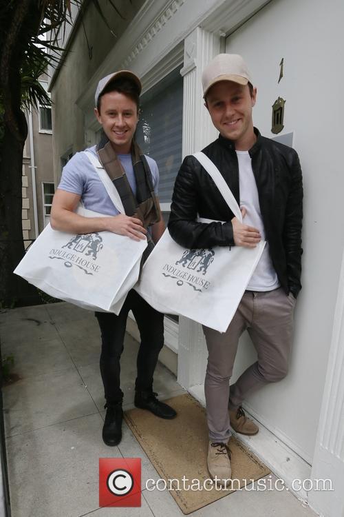 Jeffery and Matthew Postlethwaite get gifted at Indulge...