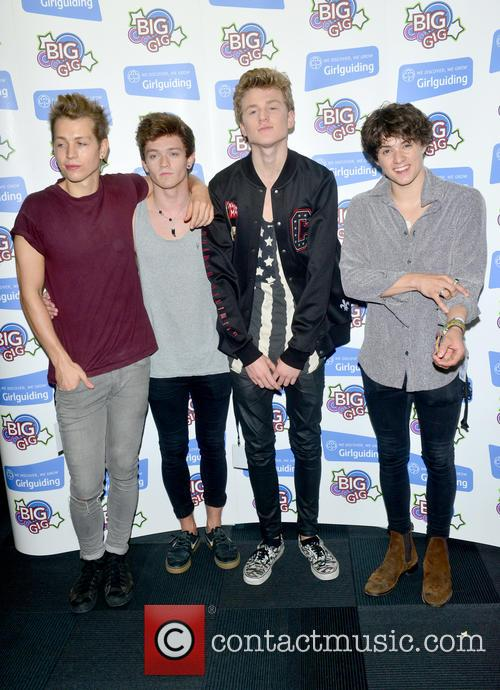 The Vamps, Bradley Simpson, James Mcvey, Connor Ball and Tristan Evans 5