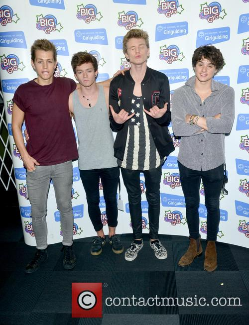 The Vamps, Bradley Simpson, James Mcvey, Connor Ball and Tristan Evans 1