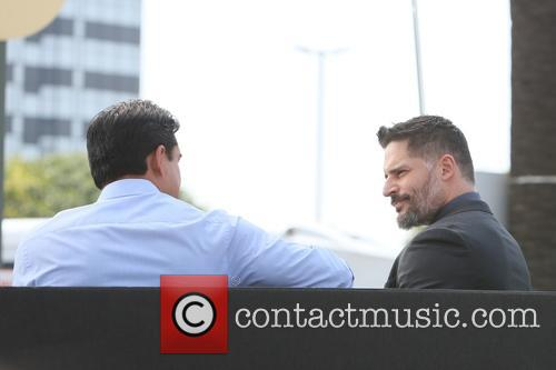 Joe Manganiello and Mario Lopez 2