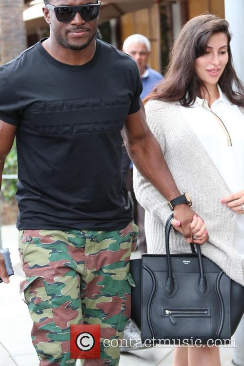 Lilit Avagyan and Reggie Bush 1