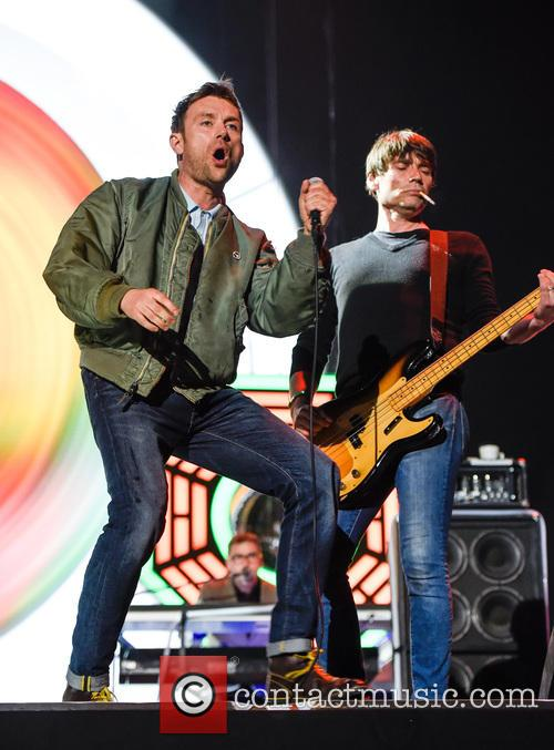 Blur, Damon Albarn and Alex James 5