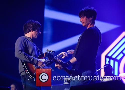 Blur, Alex James and Graham Coxon 11