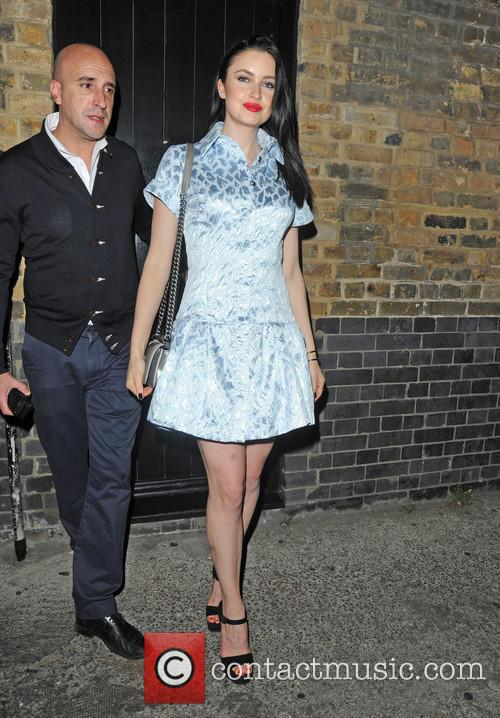 Celebrities leave Chiltern Firehouse