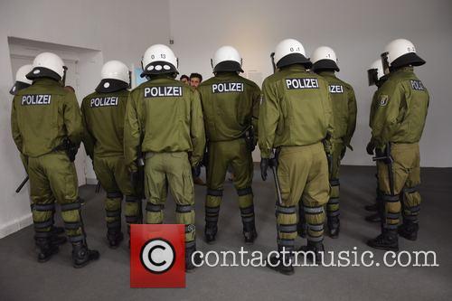 Artwork Polizei By Julius Von Bismarck 3