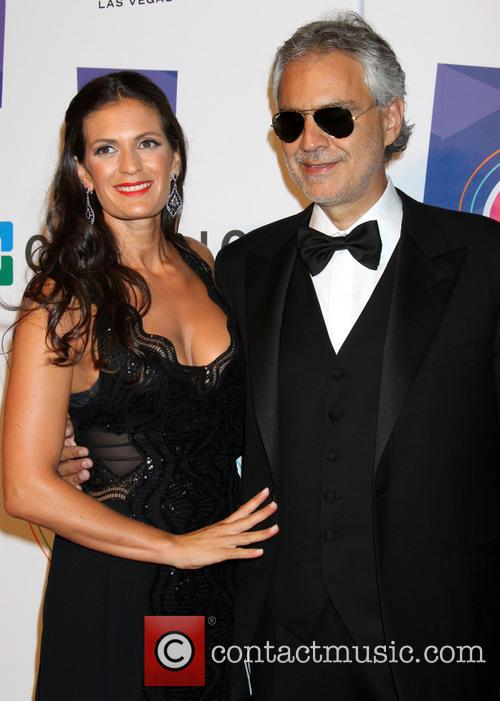 Andrea Bocelli and Veronica Bocelli 2