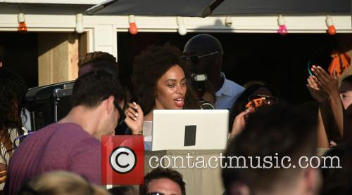 Solange Knowles DJ's at The Surf Lodge