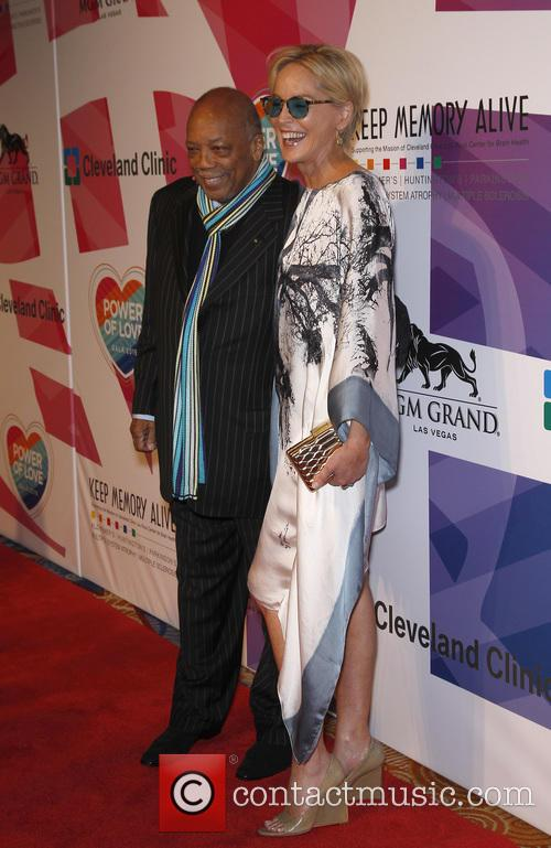 Sharon Stone and Quincy Jones 3