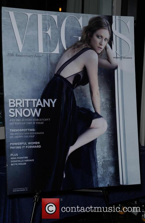 Brittany Snow at Vegas Magazine 12th Anniversary