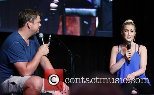 Kellie Pickler performs at the 2015 CMA Music...