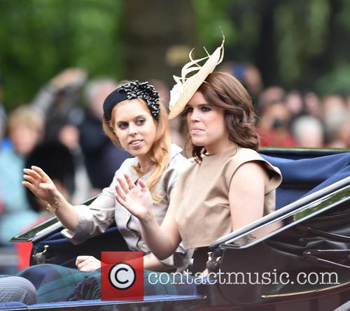 Princess Beatrice and Princess Eugenie Of York 3