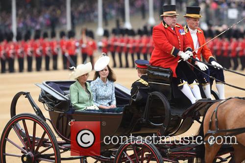 The Duchess Of Cornwall and The Duchess Of Cambridge 2