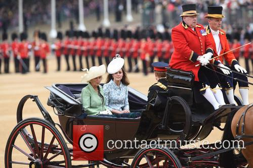 The Duchess Of Cornwall and The Duchess Of Cambridge 3