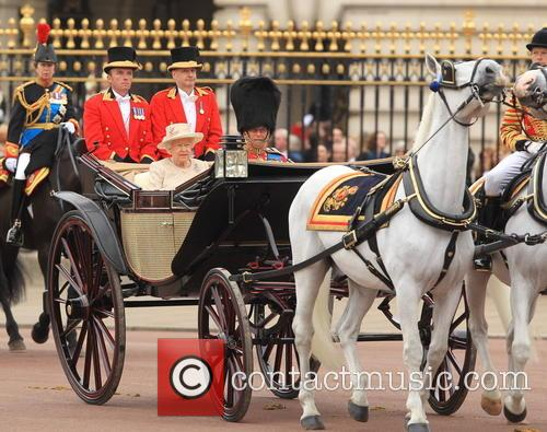 Anne, Princess Royal, Queen Elizabeth Ii, Prince Philip and Duke Of Edinburgh 2
