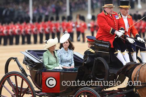 The Duchess Of Cornwall and The Duchess Of Cambridge 9