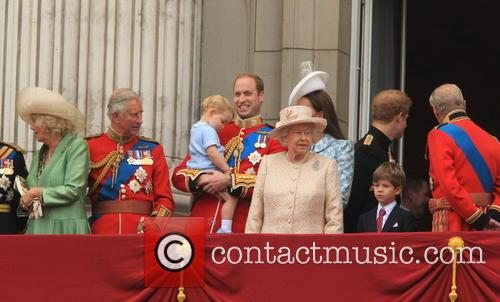 Charles, Prince Of Wales, Camilla, Duchess Of Cornwall, Prince George Of Cambridge, Prince William, Duke Of Cambridge, Catherine, Duchess Of Cambridge, Queen Elizabeth Ii, Prince Harry, Prince Philip and Duke Of Edinburgh 8
