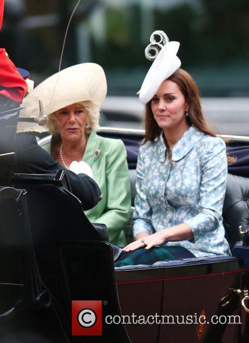Camilla, Duchess Of Cornwall, Catherine and Duchess Of Cambridge 3
