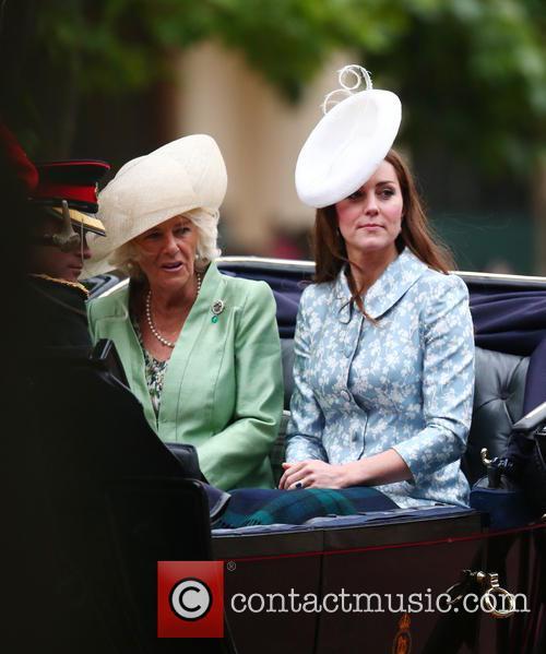 Camilla, Duchess Of Cornwall, Catherine and Duchess Of Cambridge 5