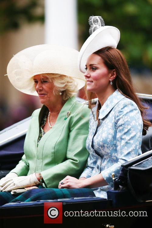 Camilla, Duchess Of Cornwall, Catherine and Duchess Of Cambridge 6