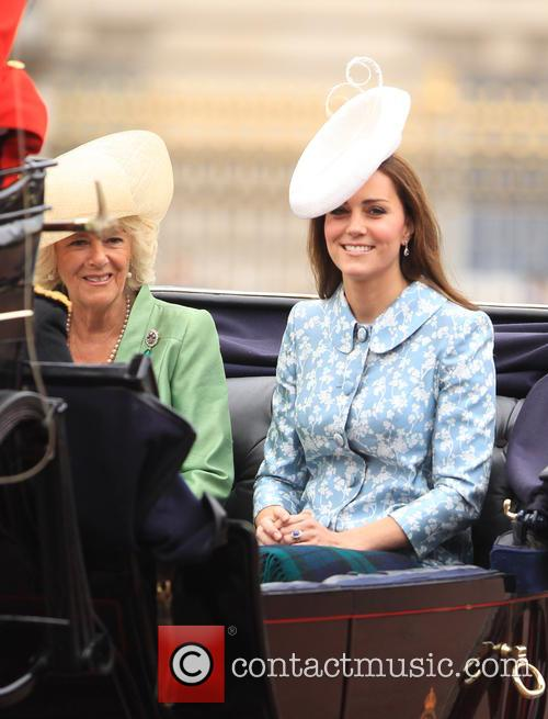 Catherine, Duchess Of Cambridge, Camilla and Duchess Of Cornwall 4