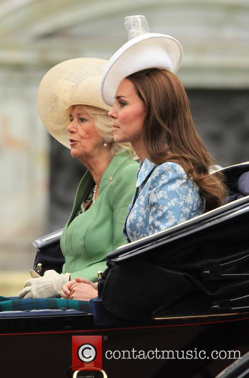 Catherine, Duchess Of Cambridge, Camilla and Duchess Of Cornwall 7
