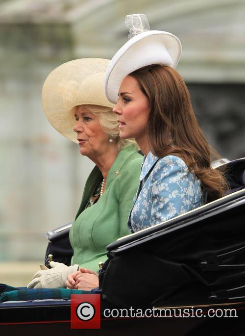 Catherine, Duchess Of Cambridge, Camilla and Duchess Of Cornwall 1